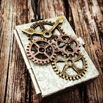 Ring Bearer,Steampunk Wedding Ring Holder, Alternative Wedding Ring Box