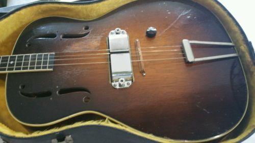 Rickenbacker 1934 Spanish Tenor Electro Guitar  and matching AMP Super Rare