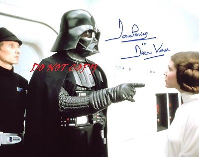 DAVID PROWSE-DARTH VADER AUTOGRAPHED PICTURE SIGNED 8X10 PHOTO RP