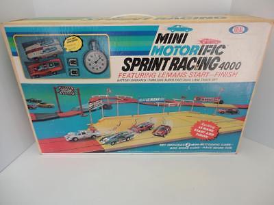 Ideal 1970 MINI MOTORIFIC SPRINT RACING 4000 Minty Fresh Very Rare!