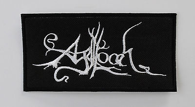 AGALLOCH ATMOSPHERIC METAL EMBROIDERED PATCH ULVER ALCEST FEN NEST DRUDKH