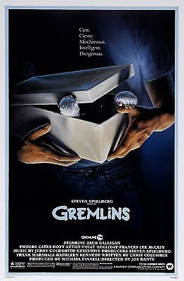 GREMLINS BOX 11X17 MINI MOVIE COLLECTIBLE POSTER