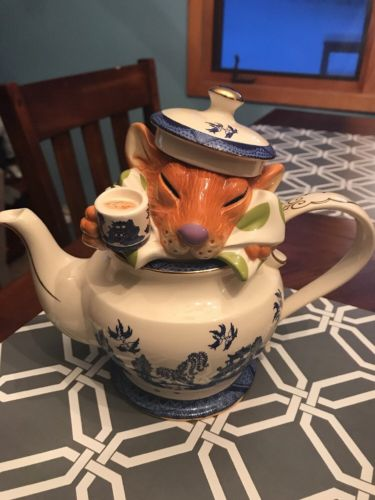 Paul Cardew Dormouse Teapot Gorgeous! 1504/5000 Limited
