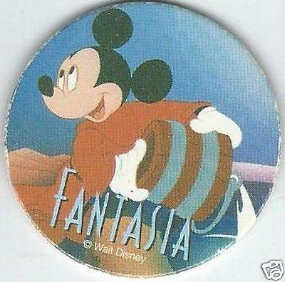 Mickey Mouse Fantasia Pog #1 Disney