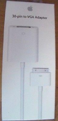 Apple 30-Pin to VGA Adapter - MC552ZM/B