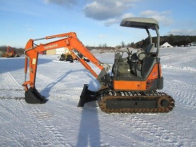 Hitachi ZX27U-2 Zaxis Mini Excavator Farm Tractor Dozer