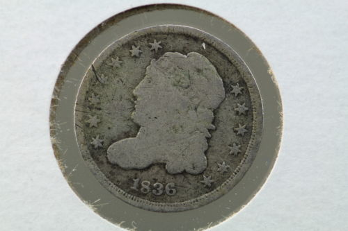 1836 Seated Liberty Half Dime