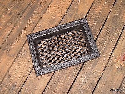 Cast Iron Grate Antique Architecture Ornate Decor Vent Remodle Crafts Choice Buy
