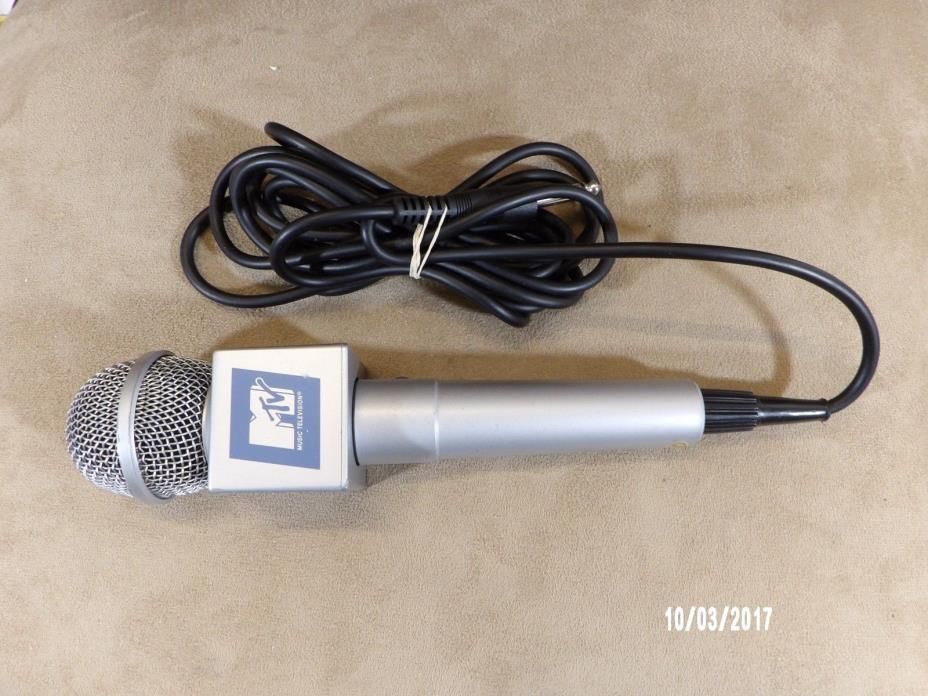 Vintage 1990s MTV Microphone.Good condition.