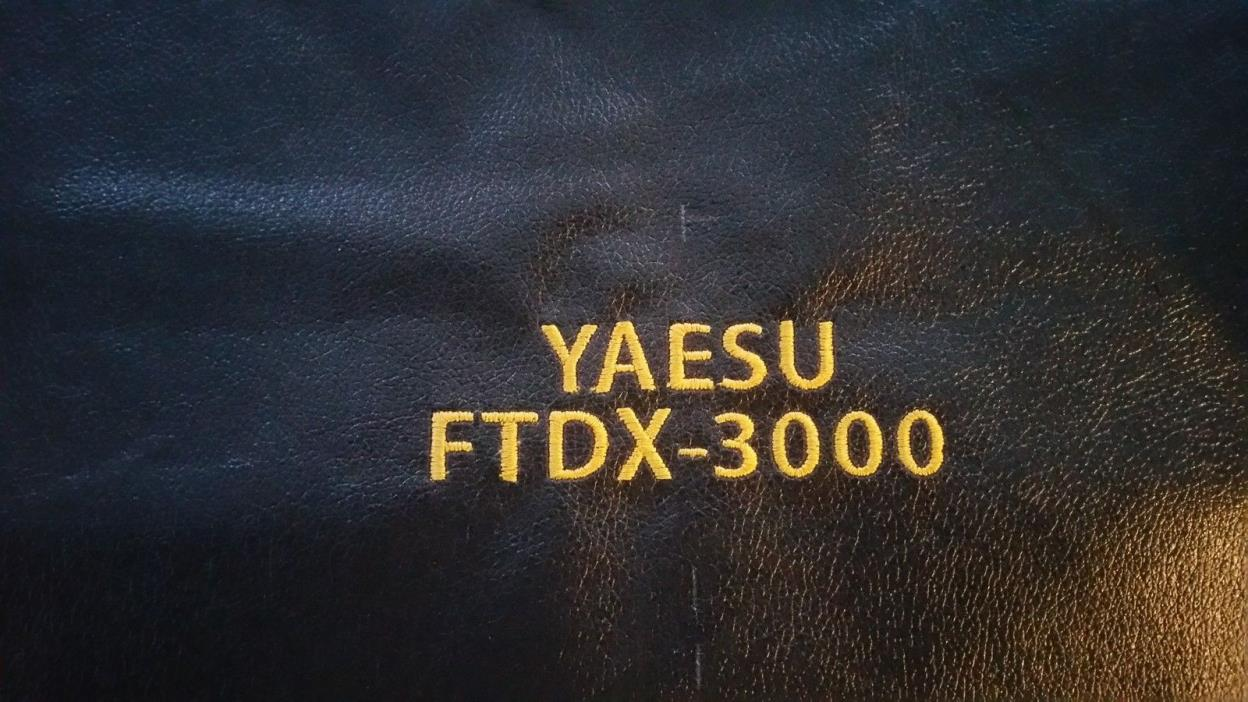 Yaesu FTdx-3000 Ham Radio Amateur Radio Dust Cover