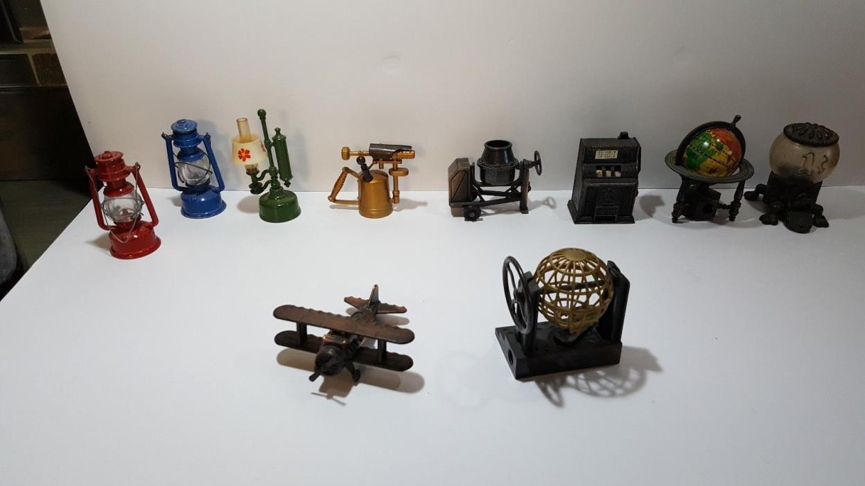 45 Vintage Bronze Die Cast Pencil Sharpener
