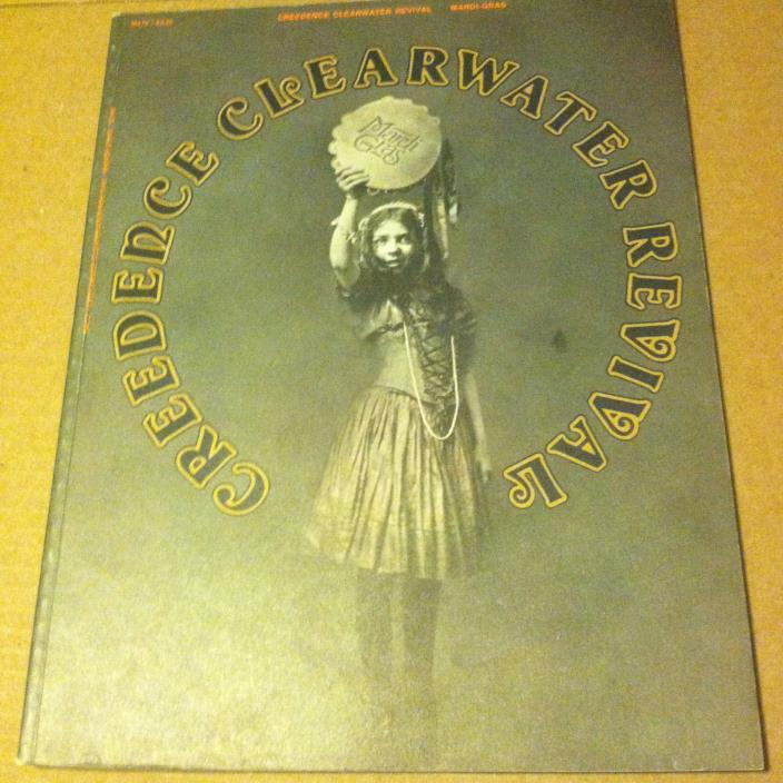 Creedence Clearwater Revival CCR MARDI GRAS Songbook piano vocal guitar chords