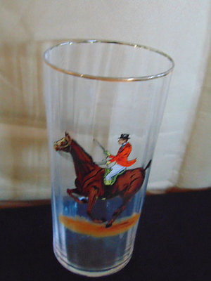 Water Goblet with Hunt Scene