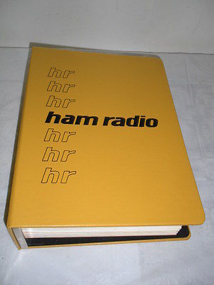 HAM RADIO FULL SET 1977 LOT of 12 Month Magazines Digest Meter Vintage 70's