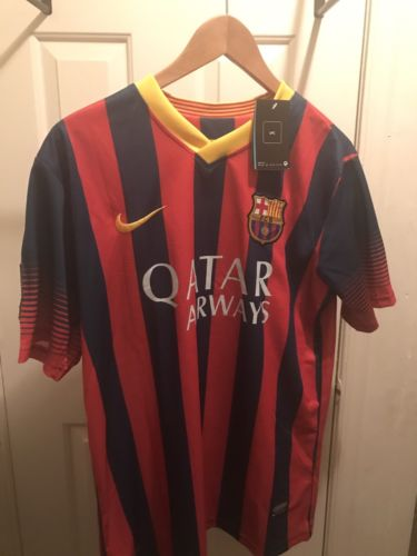 Nike Lionel Messi FC Barcelona Authentic Home Jersey 2016-2017 size small