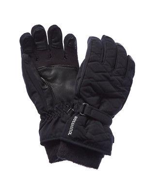 Rossignol Judy Impr Waterproof Leather-Trim Glove, Xl, Black