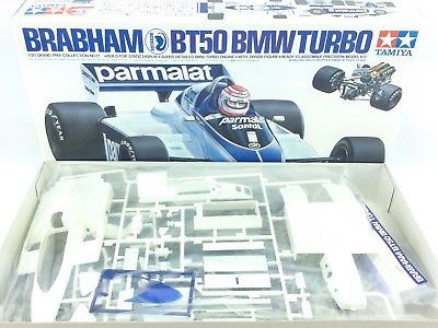 TAMIYA BRABHAM BT50 BMW Turbo 1/20 Grand Prix Model Kit F1 Formula One Piquet