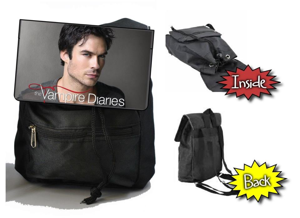 The Vampire Diaries Damon Salvatore Ian Somerhalder  Mini Backpack Purse