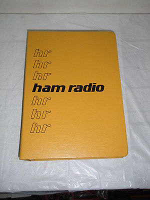 HAM RADIO FULL SET 1976 LOT of 12 Month Magazines Digest Meter Vintage 70's