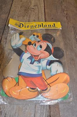 Vintage Dennison Die Cut Disneyland Mickey Mouse Party Decorations