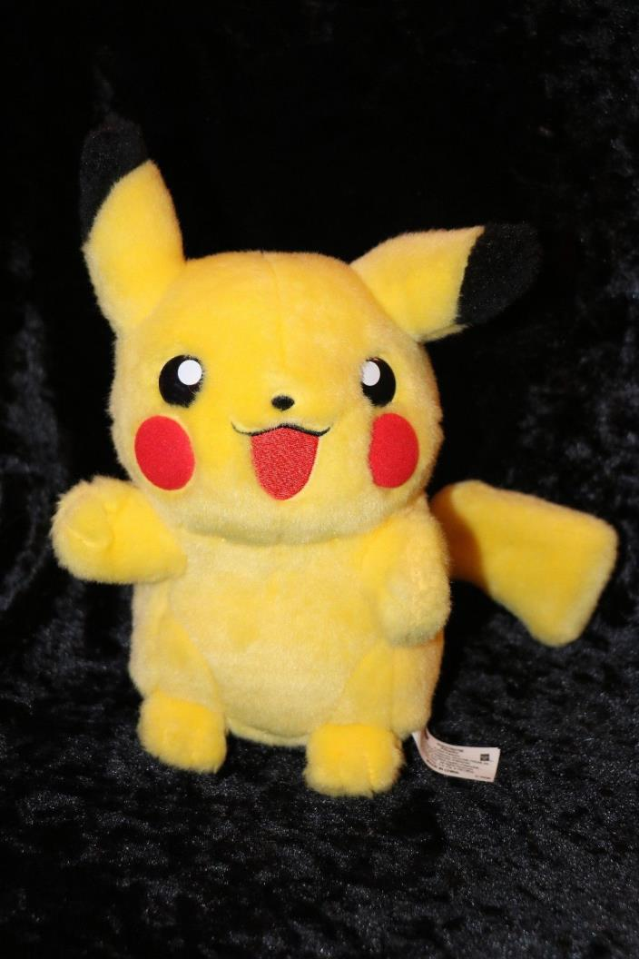Pokemon Advance Hasbro Pikachu Plush 2004 EXCELLENT