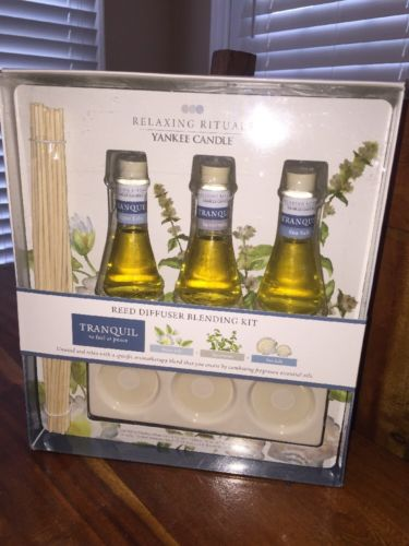 Yankee Candle Relaxing Rituals Reed Diffuser Blending Kit New Aromatherapy (HN)