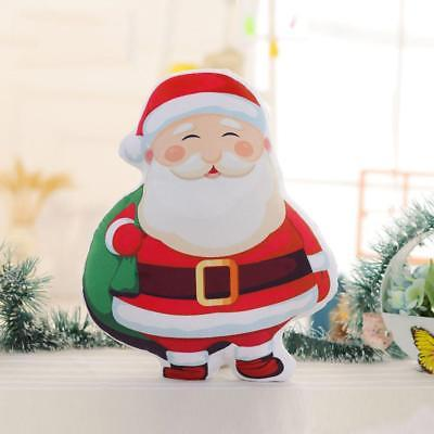 Christmas Decoration Cushion Cute Cotton Tree Santa Claus Gift Decor Toy Pillow