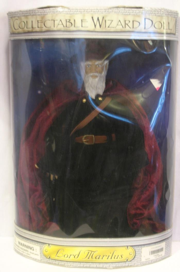 LORD MARILUS COLLECTIBLE 15 INCH WIZARD DOLL From Spencer Gifts