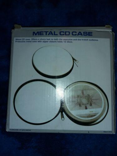 CD Protective Case disk holder metal Hard case