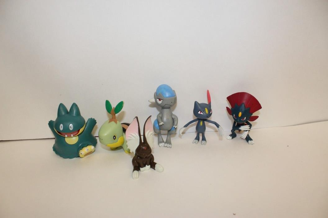 Pokemon  PVC Action Figure lot