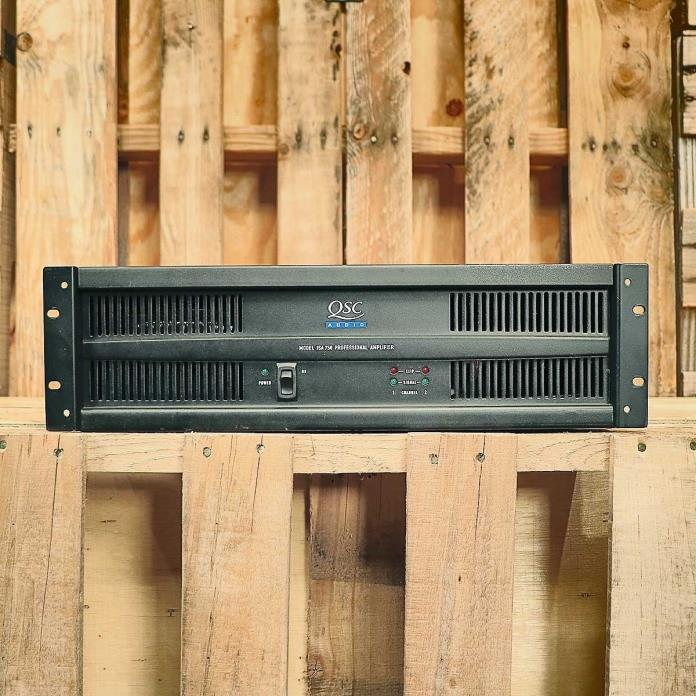 QSC ISA750 Professional Stereo Power Amplifier USED