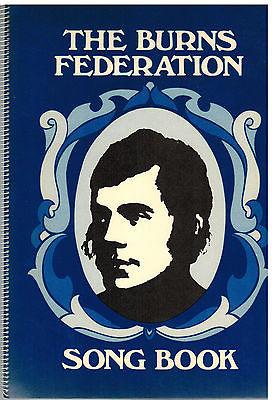 The Burns Federation : Song Book - Robert Burns / John McVie / George Short
