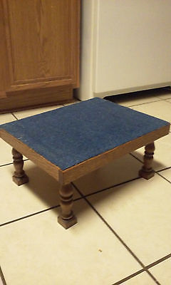solid wood foot stool/bed step/step stool