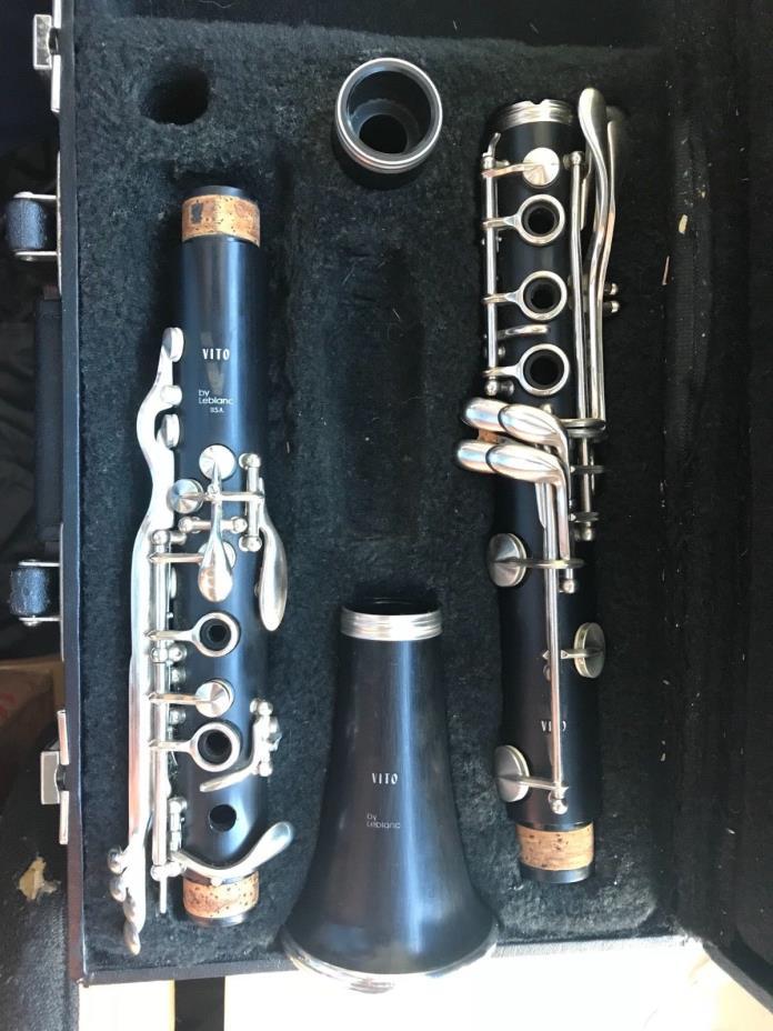 Leblanc Vito Clarinet Black Plastic