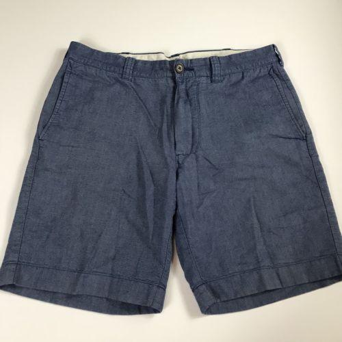 J Crew Men's Shorts Size 31 Cotton Blue