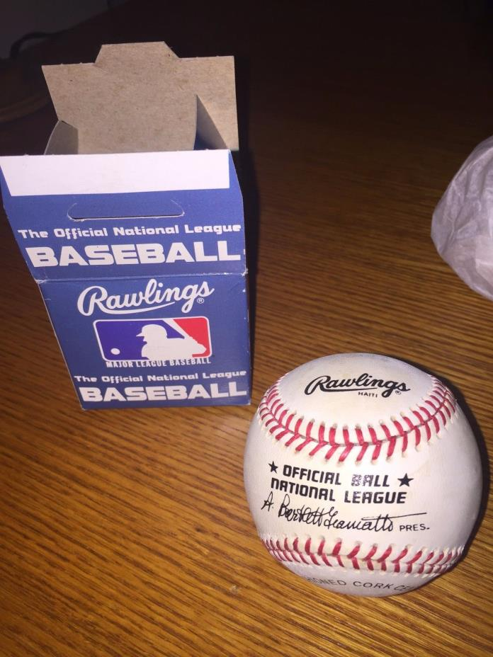 Rawlings National League Baseball - Bart Giamatti NL President - New/Unused
