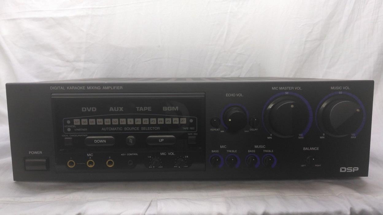 Vocopro DA-8900 Professional Vocal Mixing Amp Amplifier
