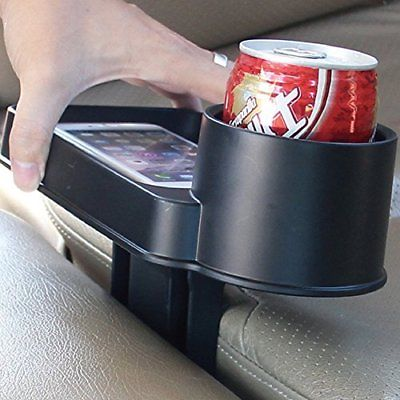 TIROL Car Holder Cup Seat Multi Drink Food Cup Tray Stand Organizer New