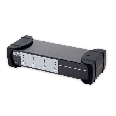 Syba USB 3.0 4-port KVM Switch USB 3.0 Hub SUPP HDMI HML and Audio Connections