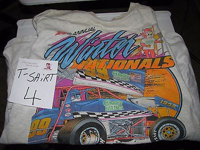 Dirt Track Racing Tee Shirt SPRINT CAR 1999  Devils Dallas TX [ 4 ]