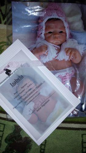 reborn baby doll/silicone/tasha edenholm