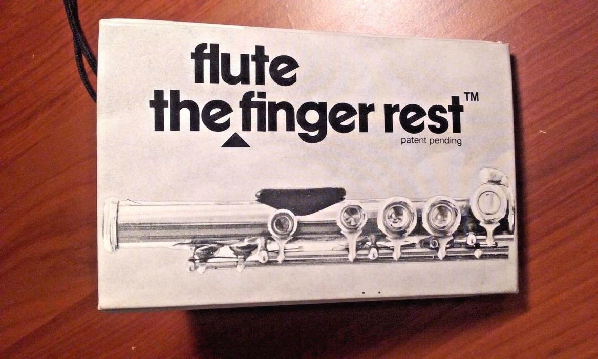 Bo Pep Flute Finger Rest Brand New in Box