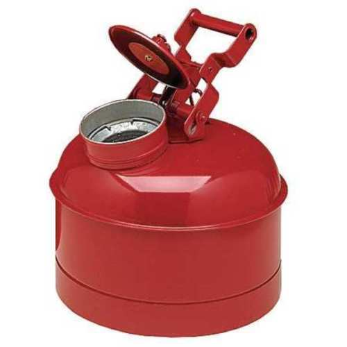 EAGLE 1423 Disposal Can, 2.5 Gal., Galvanized Steel Fre