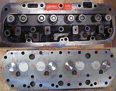 Cylinder Head Remachined Allis Chalmers 226 4 Cyl Gas CN# AM4659 NEW VALVES