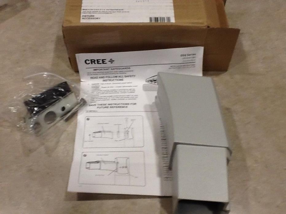 Cree OSQ-DASV  Direct Mount Arm for OSQ Series SILVER