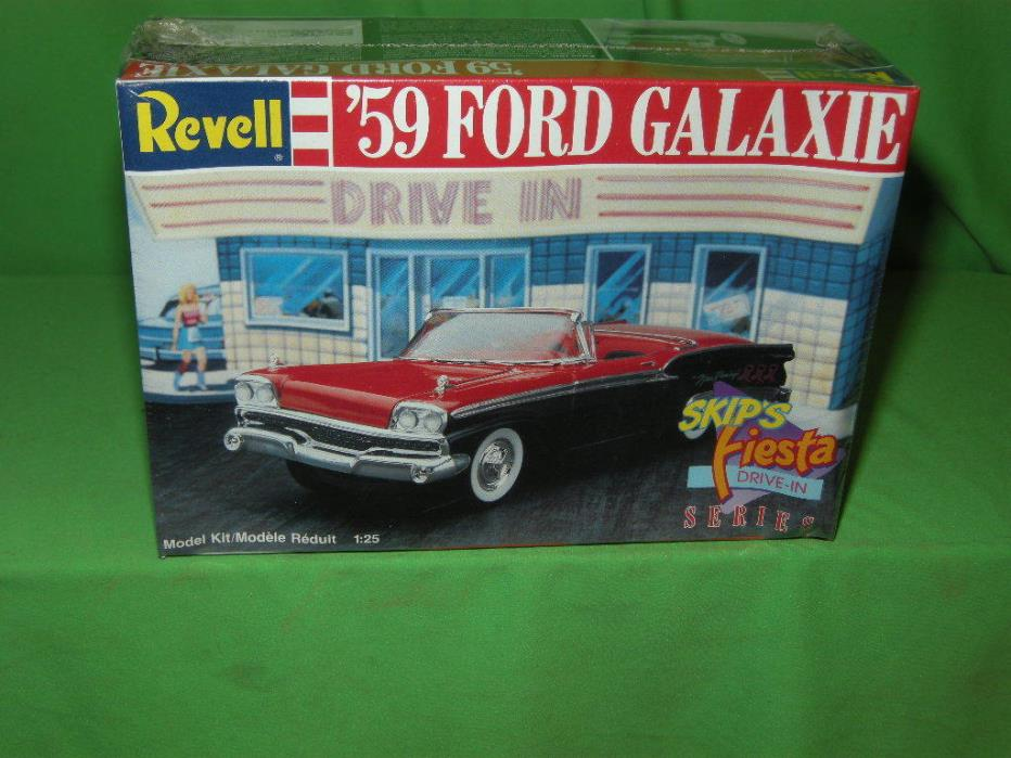 Revell 1959 Ford Galaxie Starliner Skips Fiesta Drive In Series Sealed