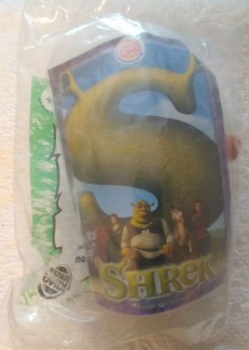 Burger King Shrek 2001, Gingerbread man, Keychain