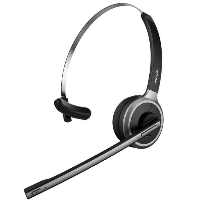 Mpow V4.1 Bluetooth Headset Truck Driver Headset Wireless Music Phone MPBH078AB