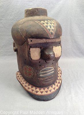 Antique African Carved Mask