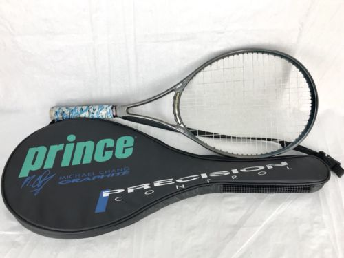 Prince CTS Synergy DB26 Mid Plus Tennis Racquet Racket L3 4 3/8 Grip With Bag